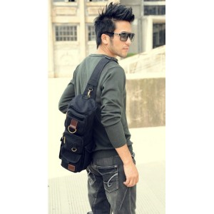 mens single strap backpack