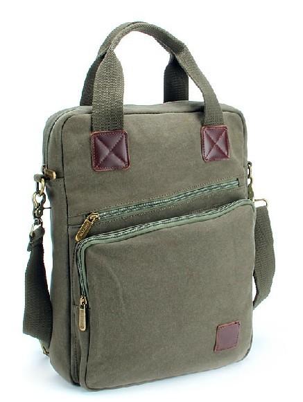 e1c38d7b90 IPAD canvas shoulder bag for women · mens canvas satchel ...
