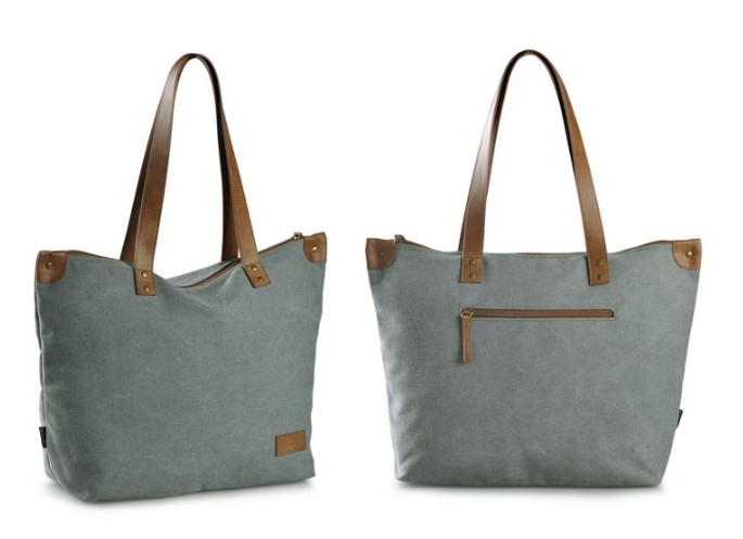 Canvas purse bag, canvas shopper bag - BagsEarth