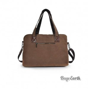 Laptop Messenger Canvas Bag