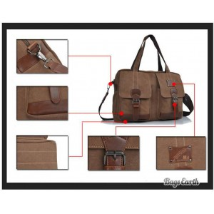 Coffee Large Canvas Ipad Tote Bag