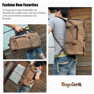 European And American Styled Backpack For Men