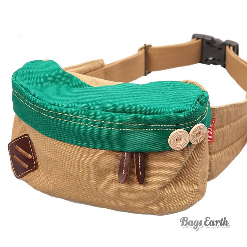 Bright Colored Fanny Packs, Red Canvas Fanny Pack Green Coffee ...