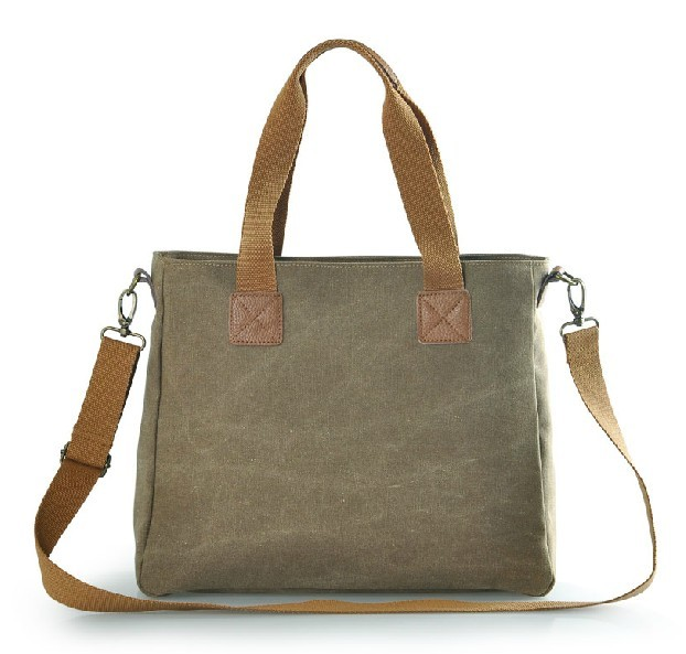 Canvas messenger bags for girls, canvas satchel bag for women ...