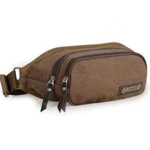 Fanny pack, canvas waist pack