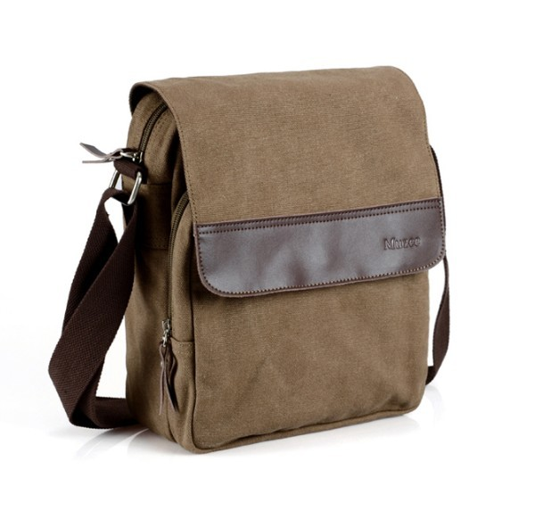 Canvas messenger bags men, messenger canvas bag - BagsEarth