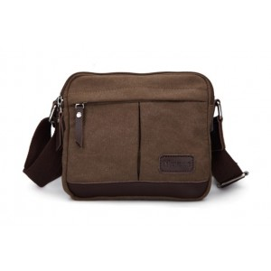 Canvas satchel bag for men