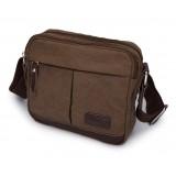 Canvas satchel bag for men, canvas messenger bag men