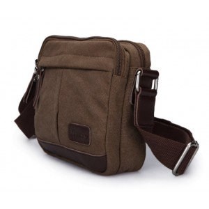 Canvas satchel bag