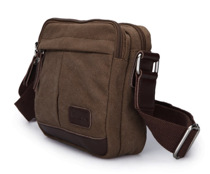 Canvas satchel bag for men, canvas messenger bag men - BagsEarth