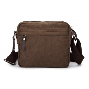 coffee Canvas satchel bag for men