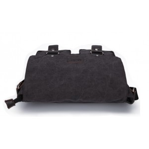 black unusual messenger bag