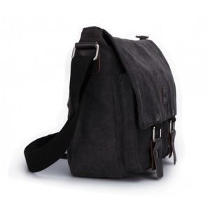 black Vintage messenger bag