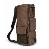 Canvas messenger bags backpack