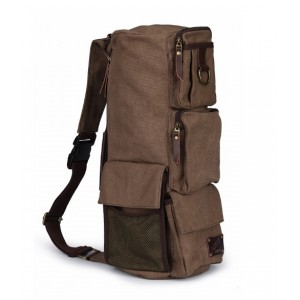 Canvas messenger bags backpack, single strap backpack
