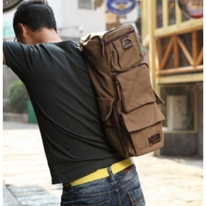 mens Canvas messenger bags backpack