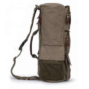 army green Canvas messenger bags backpack