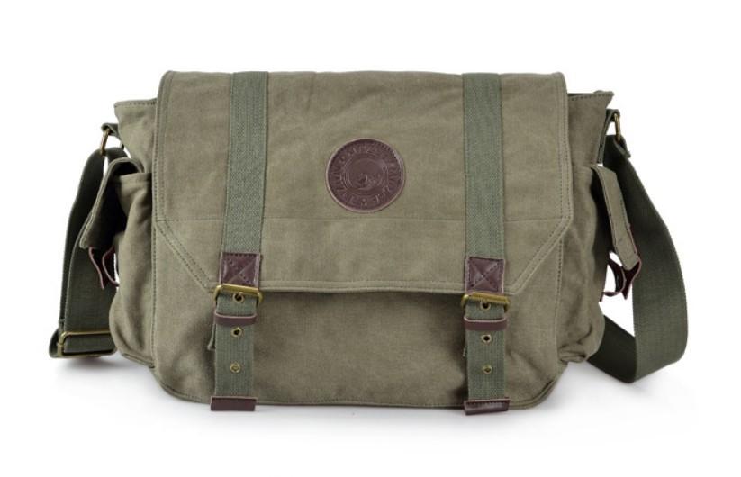 Military Green Shoulder Bag 76