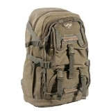 Laptop computer bag 15 inch, canvas laptop backpack for men