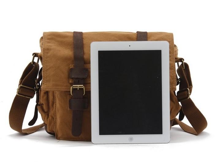 dc938311127d ... Khaki 13 Inch Laptop Bag  Army Green ...
