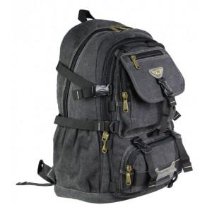 black canvas backpack men