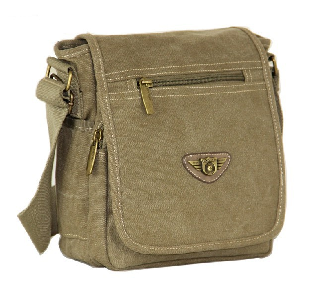 Ipad Canvas Messenger Bag For Women