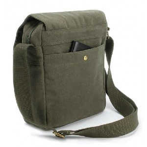 army green IPAD across the shoulder bag