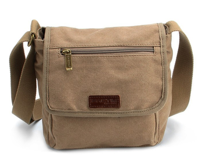 Best shoulder bag, canvas messenger bag for men - BagsEarth