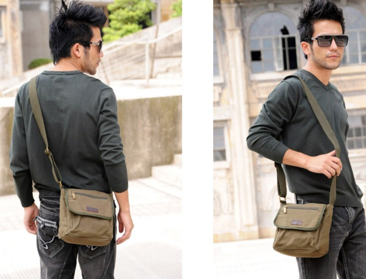 Army Green Messenger Bag For Men Las Best