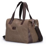 Canvas satchel shoulder cross body bag
