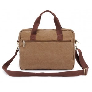 khaki Laptop bag for men