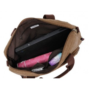 khaki cool laptop bag