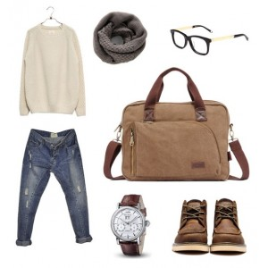 cool laptop bag khaki