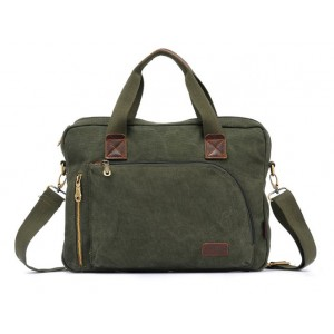 army green Laptop bag for men