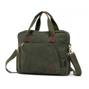 army green cool laptop bag