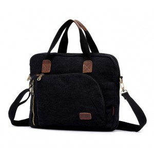 black cool laptop bag