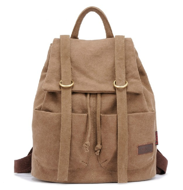 Cute Canvas Backpacks For School