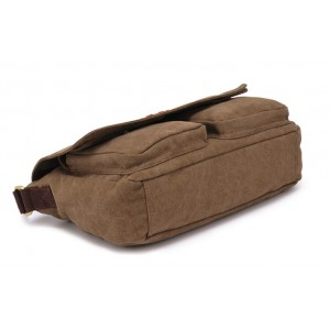 khaki travel shoulder bag