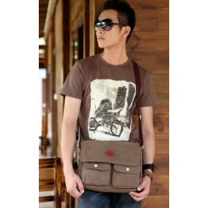 mens travel shoulder bag