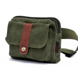 Waist pouch belt, natural canvas fanny pack