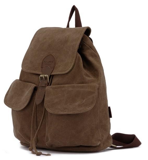 Canvas backpack for teenage girls, girls canvas rucksack backpack ...