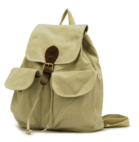 Canvas backpack for teenage girls, girls canvas rucksack backpack ... 5d1c2cf388