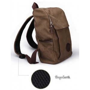 Coffee Canvas Knapsacks