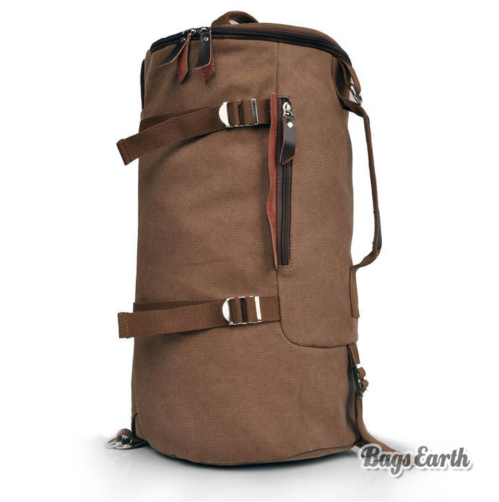 e9ebd3c08f4 Vintage Canvas Backpack · European And American Styled Fashion Backpack ...