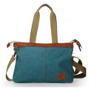 blue Girl messenger bag
