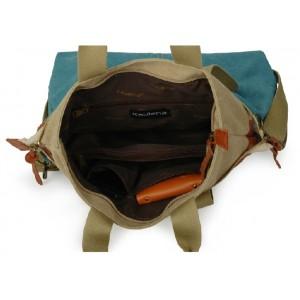 canvas Girl messenger bag