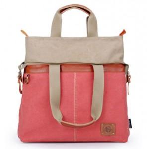 red Girl messenger bag
