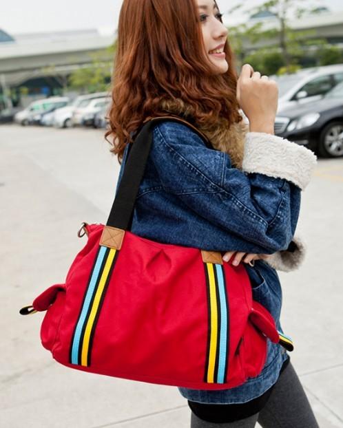 Womens Fashionable Messenger Bag Travel Tote Book