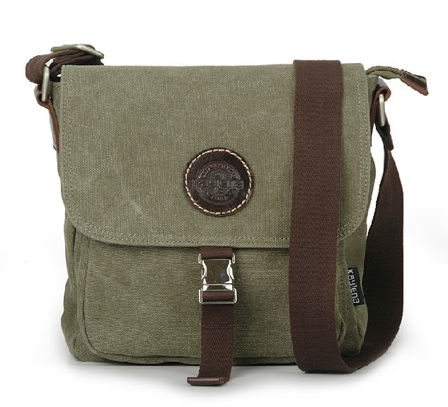 Crossbody travel bag, eco friendly messenger bag - BagsEarth