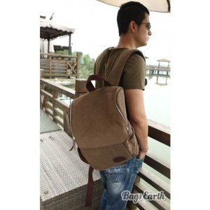 Men's Canvas Knapsacks Backpacks